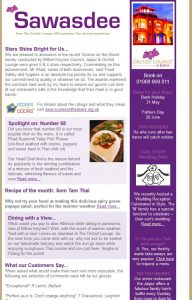 Eating Out Email Marketing