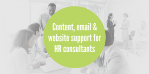 HR consultants marketing support