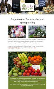 email marketing in Leighton Buzzard Farm Shop