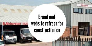 Rebrand for construction company