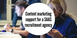 Content marketing for SAAs agency
